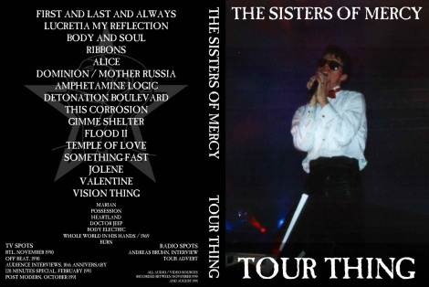 THE SISTERS OF MERCY - TEMPLE OF LOVE LYRICS